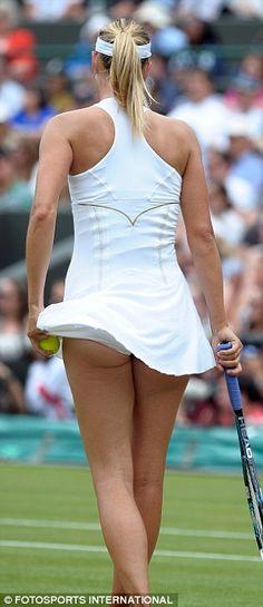 Maria Sharapova No Underpants | ... underwear and right, Maria Sharapova, unintentionally recreating the