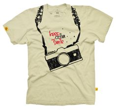 Baby Look Smile Cam - Creme - Loja de equipamentos fotográficos e presentes para apaixonados por fotografia