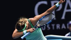 Victoria Azarenka brings 'the dab' to Australian Open  #gopanthers