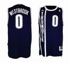 Oklahoma City Thunder 0# Russell Westbrook Swingman Alternate Jersey 19.5$
