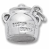 Boston Baked Beans Charm In Sterling Silver