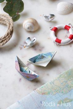 DIY Geldschein-Schiff falten, maritime Geschenkidee *Werbung* – Röda Hus