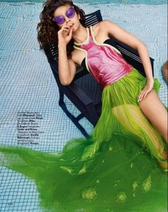 Alia Bhatt in photoshoot for Vogue magazine, March 2016 issue. #Bollywood…