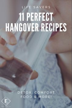 Hangover recipes and hangover cures. #hangoverkit #hangover Natural Hangover Cure, Best Hangover Cure, Hangover Food, Hangover Remedies, Panang Curry Recipe, Detox Recipes, Healthy Recipes, Pho Recipe, Alcohol Detox