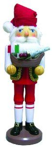 """Santa's Workshop 15"""" Italian Santa Nutcracker by Santa's Workshop, Inc.. $13.02. *15"""" tall wooden nutcracker *Italian Santa *Perfect for the Italian on your list Celebrate your Italian heritage this December with this fantastic Italian twist on the traditional Christmas nutcracker. Straight from Santa s Workshop comes this loving ode to the land of pizza pasta and wine. Santa the Nutcracker is decked out in his usual red hat but with traditional Italian garb on..."""