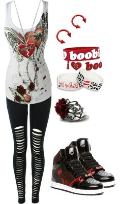 """Heart Broken"" by bvb3666 ❤ liked on Polyvore"