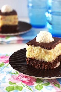 Ciasta z Kremem - Just My Delicious Polish Recipes, Just Me, Biscuits, Sweet Tooth, Cheesecake, Goodies, Baking, Food, Cakes