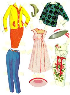 Patty Duke & Cathy 1964 :: Bobe Green - Picasa Web Albums* For lots of free paper dolls International Paper Doll Society #ArielleGabriel #ArtrA thanks to Pinterest paper doll collectors for sharing *
