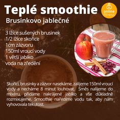 Fitness Smoothies, Fruit Smoothies, Snacks For Work, Healthy Work Snacks, Blog Online, Food And Drink, Beef, Fresh, Drinks