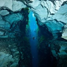 Diver's Explore Cathedral at Piccaninnie Ponds - Caving News