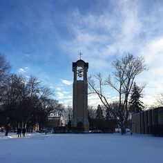 Stay warm today Cobbers! #cordmn (Photo: @taylortrager)
