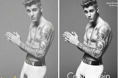 It Looks Like Calvin Klein Photoshopped Justin Bieber's Bulge And Biceps | BuzzFeed
