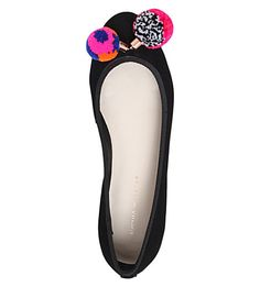 SOPHIA WEBSTER Pom pom ballerina pumps