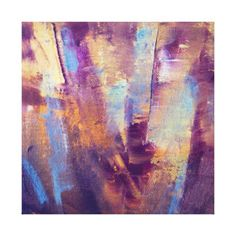 purple gold silver painting - Buscar con Google