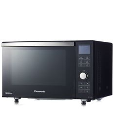 805400 - Panasonic Compact Combination Microwave Oven & Grill - QVC PRICE: £240.00 + P&P: £9.95 or 4 Easy Pays of £60.00 +P&P  This stylish, black Combi Microwave & Grill CF386BBPQ from Panasonic boasts an impressive 23 litre capacity, 16 automatic programs (including cooking food based on its weight), a convenient drop down door and a catalytic lined oven which then self-cleans at high temperatures. Enjoy evenly cooked food every time...