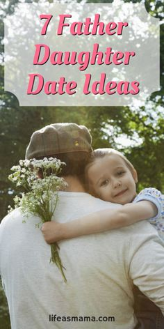 Such sweet ideas for a daddy and daughter to do together! Taking your little girl on a date is a wonderful tradition, and one you should do often! These are simple and fun ideas.