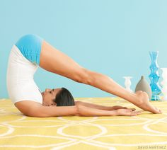 Halasana (Plow Pose). Try this soothing Yin Yoga sequence: www.yogajournal.com/practice/2677