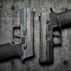 More of our Sig Sauer P320 grip work. Clean lines and clean texture.
