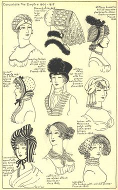 Village Hat Shop Gallery :: Chapter 13 - French Consulate and Empire 1800-1815 :: 208_G