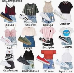I am a libra and these are zodiac casual outfits. Cute Outfits For School, Cute Summer Outfits, Outfits For Teens, Trendy Outfits, Winter Outfits, Zodiac Signs Sagittarius, Zodiac Star Signs, Gemini, Virgo Horoscope