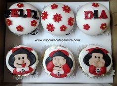 Cupcakes Mafalda #mafalda