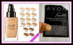 #AvonCosmetics #IdealFlawless Invisible #Coverage SPF15 #avonland #sitanelsole #makeup  #fondotinta #fondotintaliquido