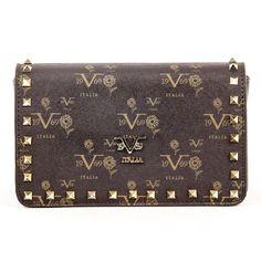 4ca80cc1a3f ONE SIZE Versace 19.69 Abbigliamento Sportivo Srl Milano Italia Womens  Handbag V19690010 COFFEE