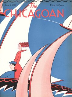 The Chicagoan, published from 1926 to 1935 in Chicago, was explicitly modeled on the New Yorker in both its graphic design and editorial content. The magazine aimed to portray the city as a cultural hub and counter its image as a place of violence and vice.