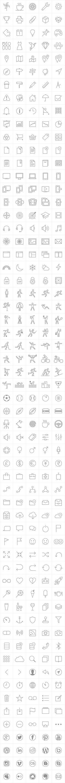 PixelLove iOS 7 tab bar icons