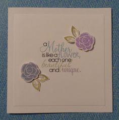 Skylark's Snippets: CC&S 160 Sketch: Mothering Sunday Roses (11/02/16)