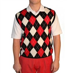 Golf Knickers: Men's Sweater Vest Argyle. Buy it @ ReadyGolf.com ...