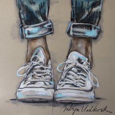 "Saatchi Art Artist: Yuliya Vladkovska; Acrylic 2013 Painting ""allstars"""