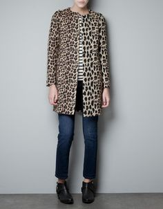 i've been wanting a leopard coat..found this at zara and it didn't break the bank! love it!