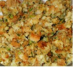 Stuffing Mom's Stuffing on BigOven: The best stuffing in the world! Never eat Stove Top again!Mom's Stuffing on BigOven: The best stuffing in the world! Never eat Stove Top again! Easy Stuffing Recipe, Best Stuffing, Homemade Stuffing, Stuffing Recipes For Thanksgiving, Thanksgiving Sides, Thanksgiving Desserts, Christmas Desserts, Baked Stuffing, Holiday Recipes