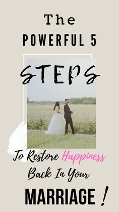 Marriage may have it ups and downs making it complicated. Discover 5 steps on how you can restore happiness in your marriage once and for all! Marriage Advice Quotes, Marriage Goals, Marriage Humor, Saving Your Marriage, Save My Marriage, Marriage Relationship, Marriage And Family, Marriage Tips, Relationships