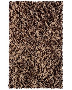 SHAGGY RAGGY BROWN RUG