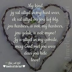 Liefste Lienkie Birthday Prayer, Birthday Wishes For Daughter, Birthday Poems, 21 Birthday, My Children Quotes, Quotes For Kids, Family Quotes, Love My Sister, Love My Kids