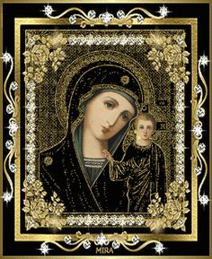 [Visit to Buy] Black icon and son diamond painting kit square drill diamond rhinestone pasted painting unfinish room decoration St Maria, Christian Friends, Beautiful Prayers, Mother Mary, Mother Gif, Madonna And Child, Jesus On The Cross, Cross Paintings, Blessed Mother