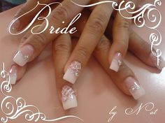 Bridal by Natalia from Nail Art Gallery