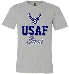 U.S. Air Force Aunt Unisex T-Shirt