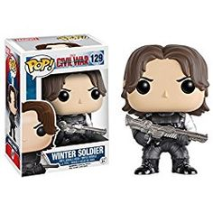 Funko POP Marvel Captain America 3 Civil War Action Figure - Winter Soldier