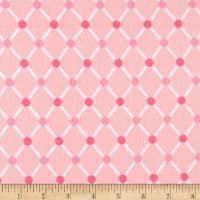 Kaufman Cozy Cotton Flannel Trellis Pink