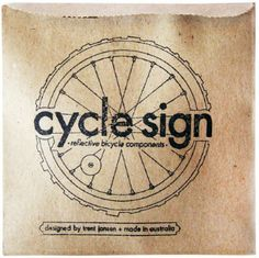 designboom shop: new product - cycle sign by trent jansen Bycicle Retro, Bycicle Black Bicycle Store, Bicycle Art, Beach Words, Bike Logo, Branding Design, Logo Design, Bike Poster, Band Logos, Compass Tattoo