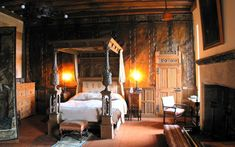 A 400-year-old bed which has been slept in by 15 generations of the same   aristocratic family has been identified as the oldest still in use in the UK. The bed is listed on an inventory taken on September 20 1608 of New Park Lodge, a family property on the Berkeley Castle estate.