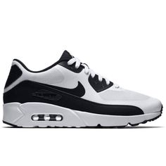 NIB Nike Air Max 90 Ultra 2.0 Essential White White Black - Sz 9.5  (875695-100)  b345da36f3