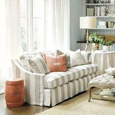 Striped Sofa                                                                                                                                                                                 More