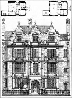 1885 - No.70, Ennismore Gardens, South Kensington, London - Archiseek.com