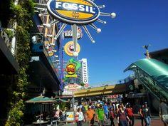 City Walk Universal Studios Orlando