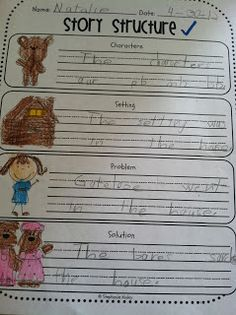 First Grade Fabulous Fish: Goldilocks