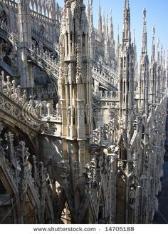 Gothic Cathedral - Milan Italy
